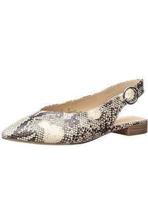 The Drop Tara Pointed Toe Slingblack Flat, womens Tara Pointed Toe Slingblack Flat Ballet Flat