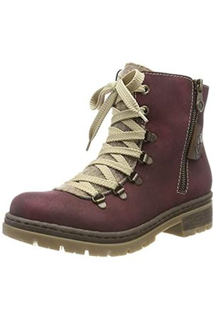 Rieker Herbst/winter, Women's Ankle Boots, (bordeaux/wood/kastanie / 35 35)