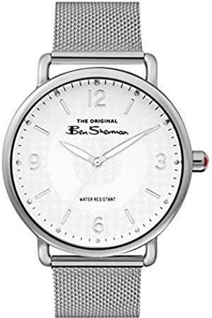 Ben Sherman Mens Analogue Classic Quartz Watch with Aluminium Strap BS015SM