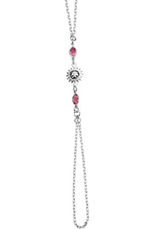 TOUS Ladies Bracelet - 3180481 - Sun - Sterling 925/1000 4.37gr - Crystal - Pink - 21.5 cm