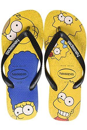 Havaianas Unisex Adult's Simpsons Flip Flops, ( Banana/ 1083)