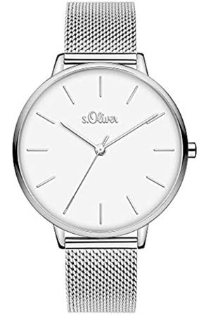 s.Oliver Womens Analogue Quartz Watch with Stainless Steel Strap SO-3800-MQ