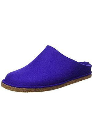 Haflinger Unisex Adults' Flair Soft Open Back Slippers, (Violett 19)