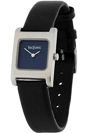 Tectonic Women's Quartz Watch with Dial Analogue Display and Leather Strap 41-1100-99
