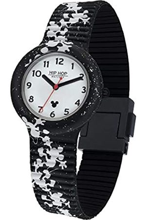 Hip Hop Watches - Unisex Watch Special Edition Anniversary Mickey Mouse - Collection Retro Mickey - Silicone Strap - 35mm Case - Waterproof - Silhouette
