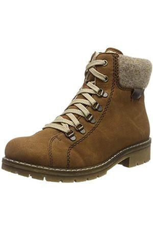 Rieker Women's Herbst/Winter Ankle Boots, (Cognac/Wood/Kastanie 22)