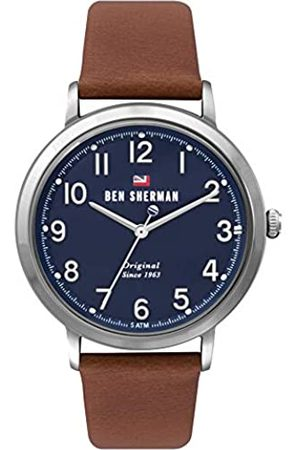 Ben Sherman Mens Analogue Classic Quartz Watch with Leather Strap WBS113UT