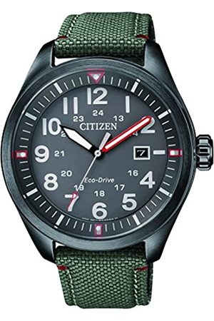 Citizen Mens Analogue Quartz Watch with Fabric Strap AW5005-39H