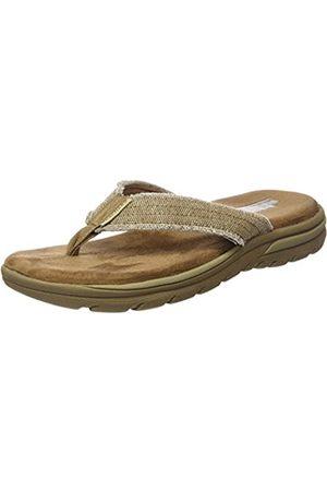 Skechers Mens Supreme - Bosnia Thong Sandals 64152 Beige (Tan) 6 UK