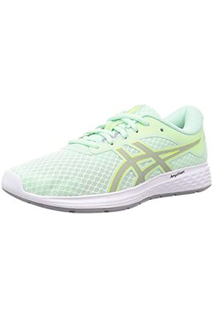 ASICS Women's Patriot 11 Running Shoe, Mint Tint/Sheet Rock