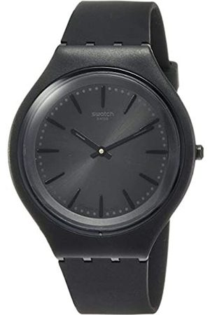 Swatch Mens Analogue Quartz Watch with Silicone Strap SVUB103