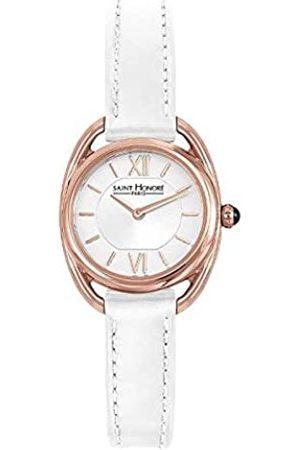Saint Honoré Women's Analogue Quartz Watch with Leather Strap 7210268AIR-W