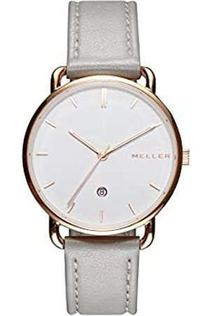MELLER Unisex Adult Analogue Quartz Watch with Leather Strap W3R-1