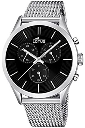 Lotus Men's Quartz Watch with Dial Chronograph Display and Stainless Steel Bracelet 18117/2
