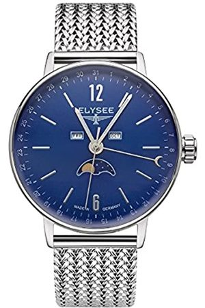 ELYSEE Unisex Adult Analogue Quartz Watch with Stainless Steel Strap 13294M