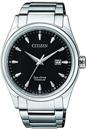 Citizen Mens Analogue Quartz Watch with Titanium Strap BM7360-82E