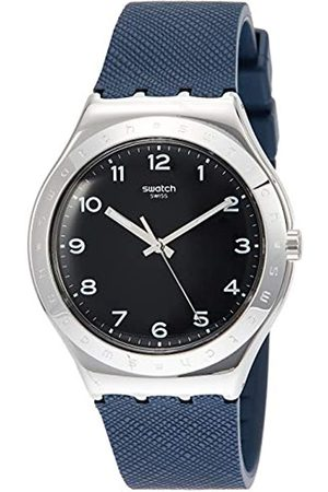 Swatch Unisex Adult Analogue Quartz Watch with Rubber Strap YWS102