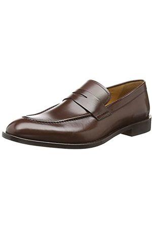Geox Men's U SAYMORE D Loafers, (Ebony C6027)