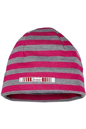 Sterntaler Girl's Beanie Hat, -Rot (Magenta 745)