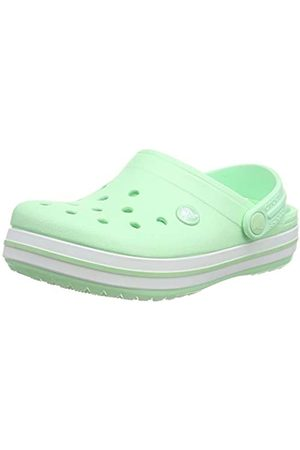 Crocs Crocband Clog K, Unisex-Child Clogs, (Neo Mint 3TI)