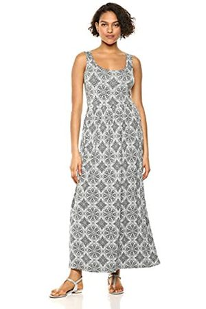 Amazon Essentials Patterned Tank Waisted Maxi Dress Casual