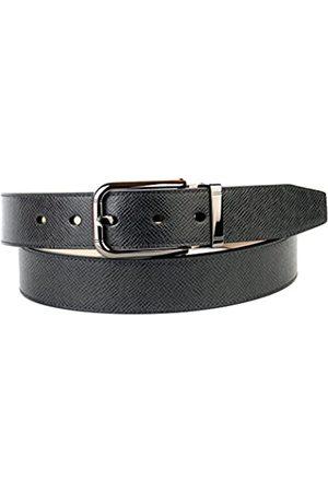 Anthoni Crown Men's 3PY10 Belt, (Schwarz 010)