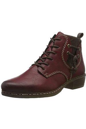 Rieker Women's Herbst/Winter Ankle Boots, (Wine/Chestnut 35)