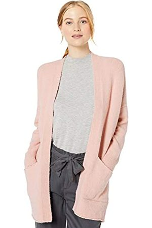 Daily Ritual Cozy Boucle Coatigan Sweater Pale Mauve