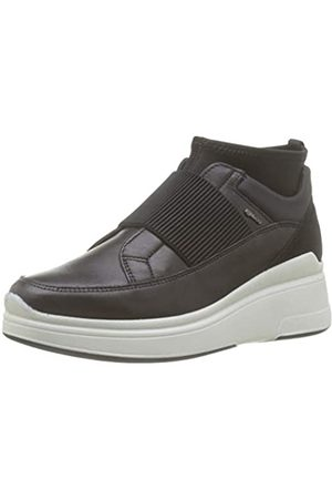 IGI&CO Women's Donna-41417 Hi-Top Trainers, (Nero 4141700)