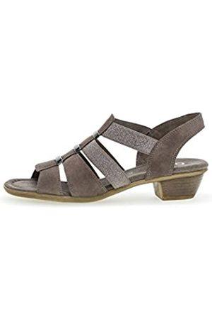 Gabor Women's Comfort Sport Ankle Strap Sandals, (Fango 78)