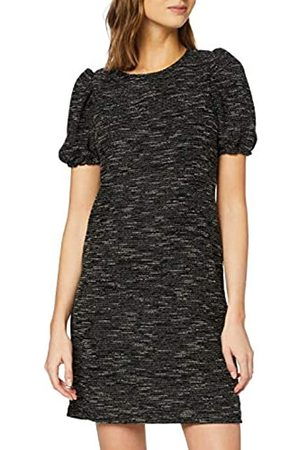 New Look Women's CY TEXTURED PUFF SLV TUNIC Casual Dress