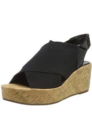 HÖGL Women's Portofino Platform Sandals, (Schwarz 0100)