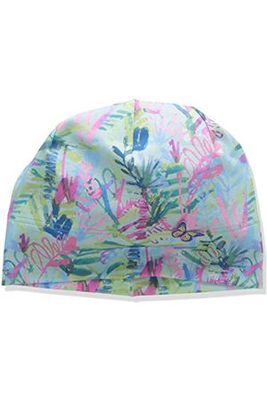 maximo Girl's Beanie Hat, Mehrfarbig (Mandelblüte/Citronelle-Gräser 21)
