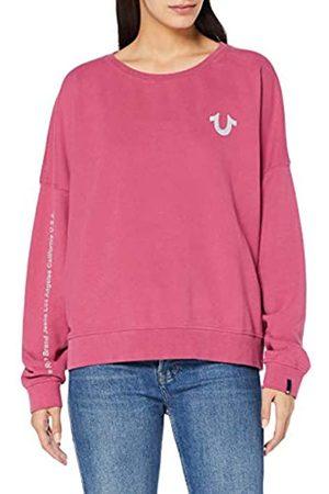 True Religion Women's Crew Sweat Reflect Sweatshirt