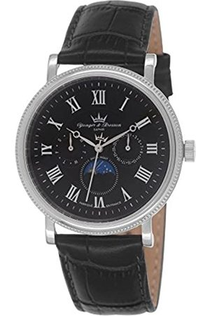 Yonger & Bresson – HCC 1685/01 Men's Watch – Analogue Quartz – Dial – Leather Strap