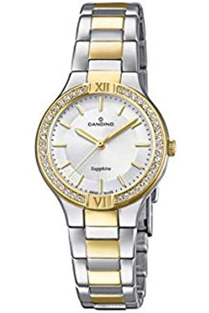 Candino Womens Analogue Classic Quartz Watch with Stainless Steel Strap C4627/1