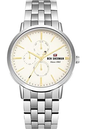 Ben Sherman Mens Analogue Classic Quartz Watch with Stainless Steel Strap WBS104SM