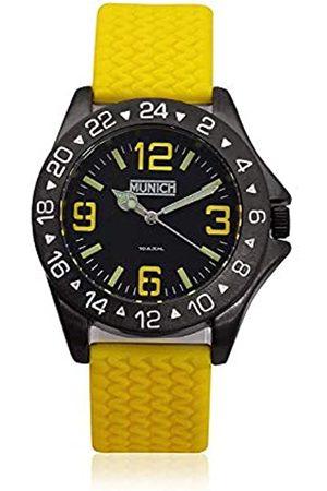 Munich Unisex Adult Analogue Quartz Watch with Rubber Strap MU+120.9A