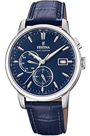 Festina Men's Chronograph Quartz Watch with Leather Strap F20280/3