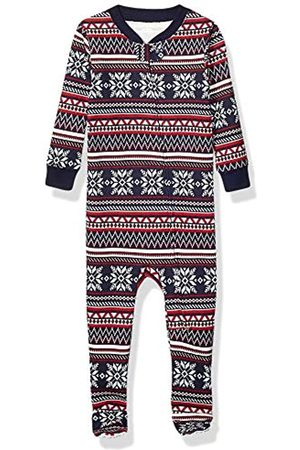Amazon Essentials Unisex-child Baby and Toddler Zip-front Footed Sleeper Pajamas Baby and Toddler Zip-front Footed Sleeper Pajamas Sleepers
