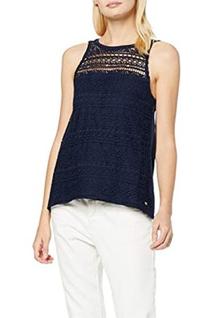 Tom Tailor Denim (NOS) Women's Crochét Mix Top Vest