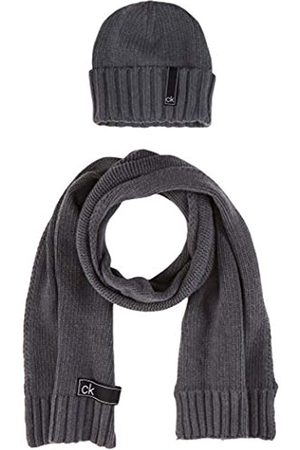 Calvin Klein Men's K50K505185 Scarf, Hat & Glove Set
