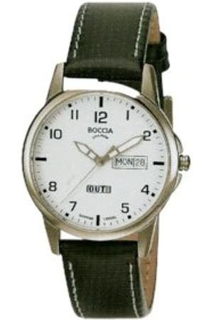 Boccia Sport 604-12 Gents Watch with Leather Strap