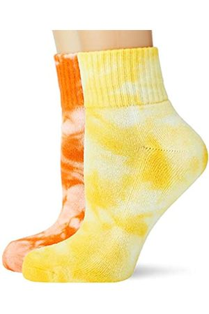 Urban Classics Socken Tie Dye Socks Short 2-Pack