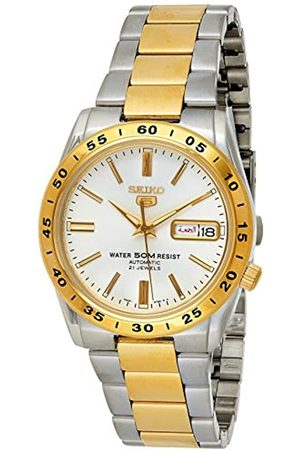 Seiko Men's Analogue Automatic Watch with Stainless Steel Strap SNKE04K1