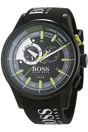 HUGO BOSS Men's Chronograph Quartz Watch with Silicone Strap – 1513337