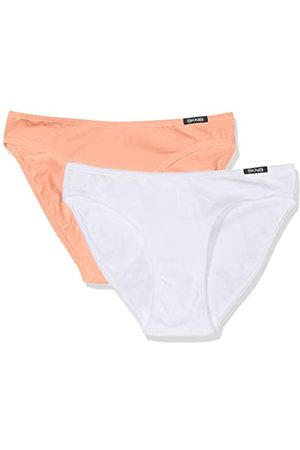 Skiny Women's Advantage Cotton Rio Slip 2er Pack Brief