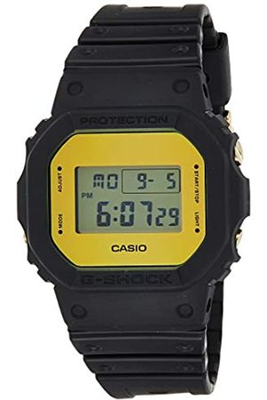Casio Mens Digital Quartz Watch with Resin Strap DW-5600BBMB-1ER
