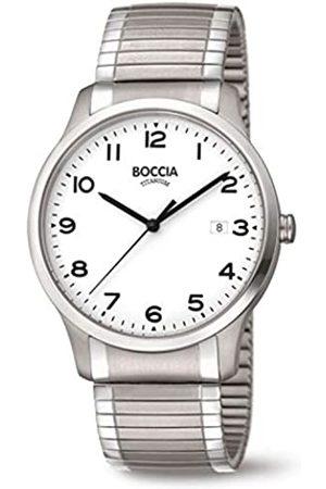 Boccia Mens Analogue Quartz Watch with Titanium Strap 3616-01