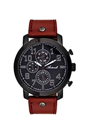 Antoneli Unisex-Adult Analogue Classic Quartz Watch with Stainless Steel Strap AG9298-02